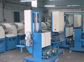 三角拉丝机械设备仓库