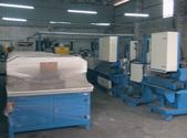 平面拉丝机机械设备仓库